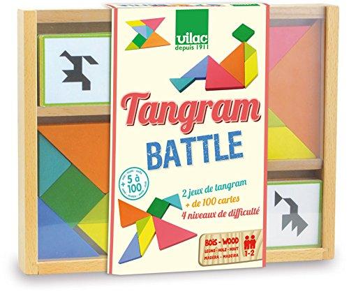 Vilac - Tangram Battle (6061) (Juguete)