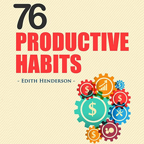 76 Productive Habits audiobook cover art