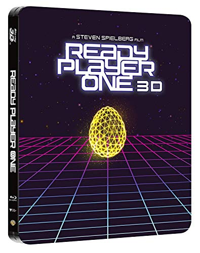 Ready Player One: 3D and 2D Blu-ray SteelBook [Limited Edition]