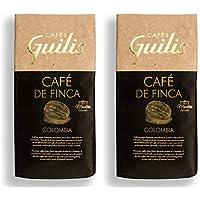 CAFES GUILIS DESDE 1928 AMANTES DEL CAFE Café Colombiano en Grano Arábica Tueste Natural. Finca Mocatán 2 Kg