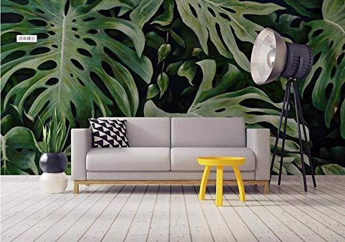 Qingany wandscherm, fotobehang, personaliseerbaar, restaurant, Botanisch, Tropisch, Zuidoost, Aziatisch, restaurant, hotel, wandachtergrond 300 x 210 cm.