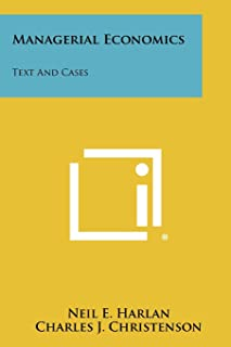 Managerial Economics: Text And Cases