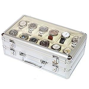 Vitrina Guarda 24 Relojes en Aluminio