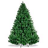 Ncloyn Green 4 Ft Artificial Árbol De Navidad, 250 Ramas Material PVC Árbol De Navidad Artificial Pino Abeto Artificial Arboles Soporte Metal Retardante Decoración De Navidad-120cm