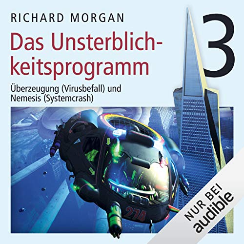Das Unsterblichkeitsprogramm 3     Kovacs 3              By:                                                                                                                                 Richard Morgan                               Narrated by:                                                                                                                                 Simon Jäger                      Length: 6 hrs and 59 mins     Not rated yet     Overall 0.0