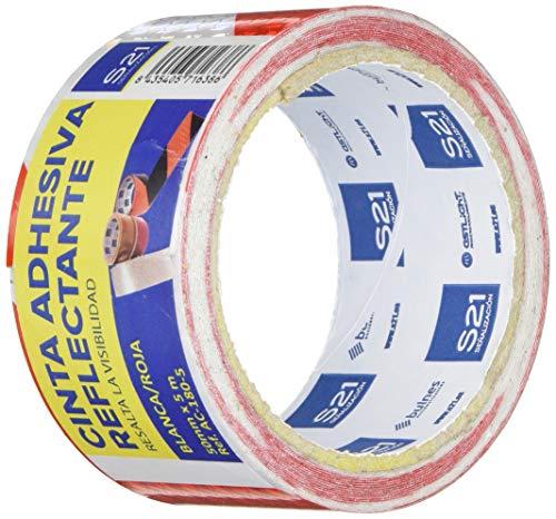 S21 Señalización AC-180-5 Cinta reflectante adhesiva, Multicolor