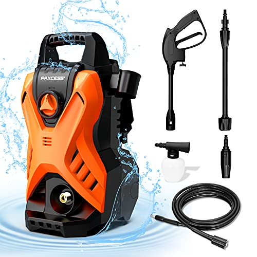 Paxcess Portable Pressure Car Washer, Electric Power Washer Machine...