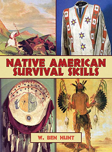 Native American Survival Skills: How to Make Primitive Tools and Crafts from Natural Materials (English Edition)