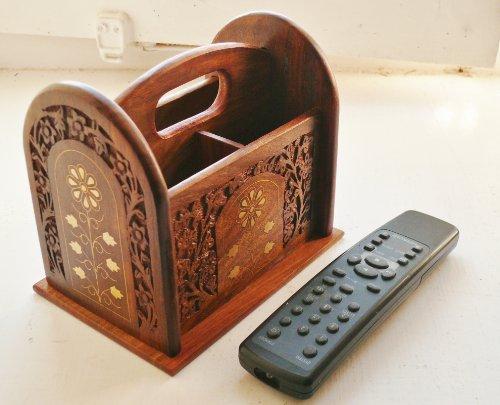 The Camphor Tree - Porta telecomando in legno