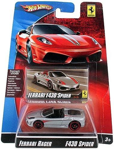 Hot Wheels Die-Cast Ferrari Racer F430 Spider 1 64