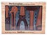 Baur - Scatola attrezzi da lavoro in cioccolato al latte