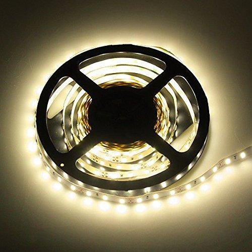 Bobine ruban 300 LED 5630 Epistar Blanc chaud 3000 K pour Intérieur IP20 5 m avec Adhésif double face