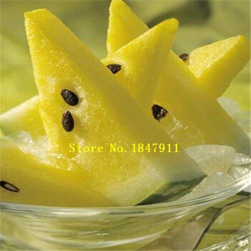 Violet: Big Sale emballage d'origine 30 graines/Paquet, fruits Graines de melon d'eau Pot, Beauté noire pastèque, des semences de pastèque