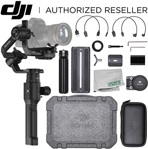 DJI Ronin-S Handheld 3-Axis Gimbal Stabilizer with All-in-One Control for DSLR and Mirrorless Cameras Basic Starter Bundle - CP.ZM.00000103.02