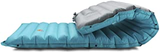 ZOOOBELIVES Extra Thickness Inflatable Sleeping Pad with Built-in Pump, Most Comfortable Camping Mattress for Backpacking,...