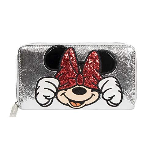DANIELLE NICOLE - Cartera Silver Minnie Mouse