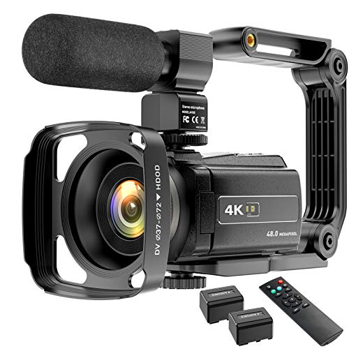Video Camera Camcorder 4K YouTub...
