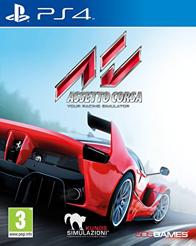 505 Games Assetto Corsa, PS4 Básico PlayStation 4 vídeo - Juego (PS4, PlayStation 4, Racing, Modo multijugador, E (para todos))