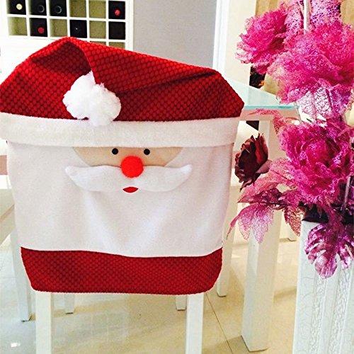 SSITG Housse de chaise de Noël 65 x 50 cm