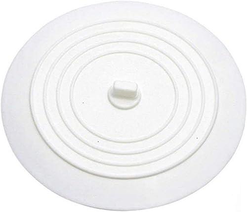 Andexi 排水溝 ふた 止水フタ シンク ふた 15cm 排水口カバー 止水栓 水止めキャップ シンクストッパー 目皿 浴槽ストッパー シリコン 白 流し用止水フタ 排水口のフタ