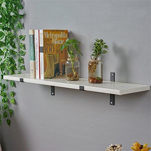 HQQ Retro Loft flotante estantes-Hierro y madera cocina Wall Storage Board Wall-mounted...