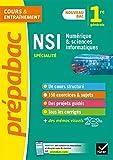 Prépabac NSI 1re générale (spécialité): nouveau programme de Première