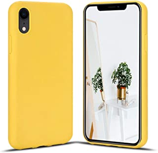 coque jaune pastel iphone xr