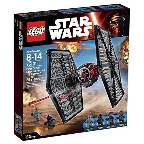 LEGO Star Wars 75101 First Order Special Forces TIE Fighter Building Kit by LEGO