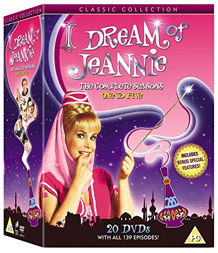 I Dream of Jeannie - Season 1 (Color) / I Dream of Jeannie - Season 2 / I Dream of Jeannie - Season 4 / I Dream of Jeannie - Season 5 / I Dream of ... 3 / I Dream of Jeannie 15 Years Later - Set [Reino Unido] [DVD]