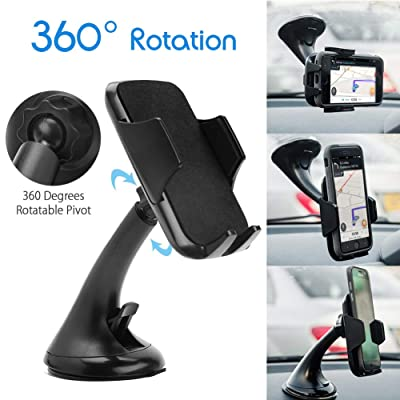 Car Phone Mount, Cell Phone Holder for Car Dash...