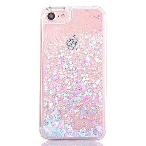 iPhone 6S Plus Liquid Case Glitter