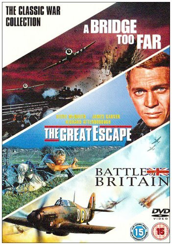 A Bridge Too Far/The Great Escape/Battle Of Britain [DVD] by Dirk Bogarde