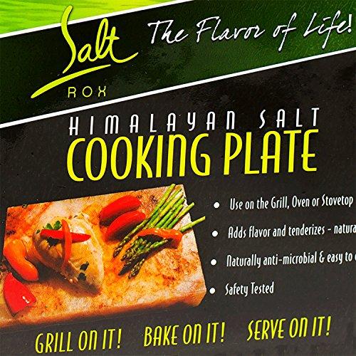 Salt Rox cookng stone large Himalayan salt cooking Plate, Pink