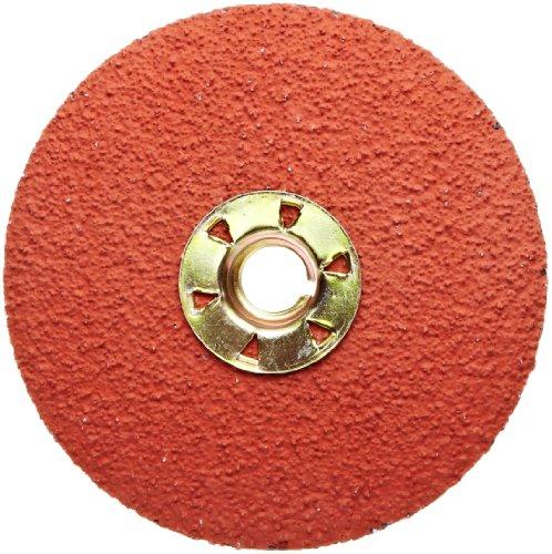 3M Fibre Disc 785C TN Quick Change, Ceramic Aluminum Oxide, 4-1/2