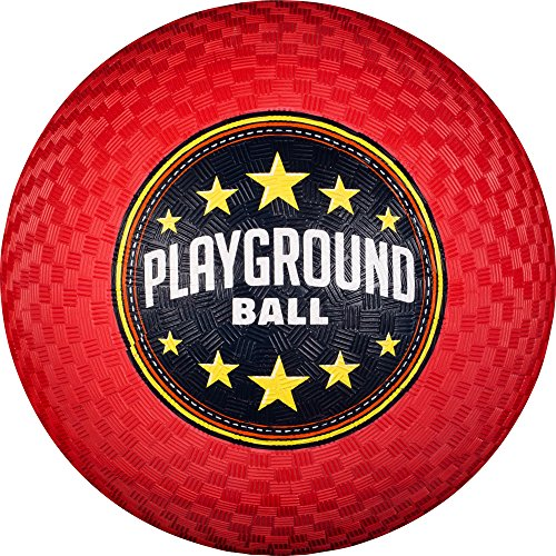 Franklin Sports 8.5 Inch Red Playground Ball