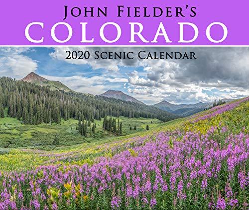 John Fielder's 2020 Scenic Wall Calendar