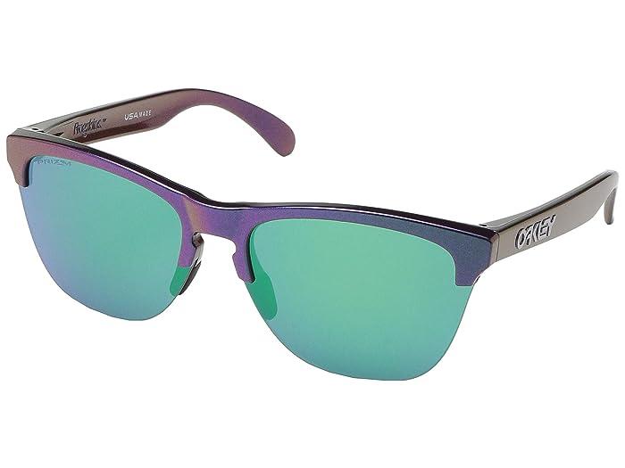 Oakley Frogskins Lite (Green/Purple Shift) Sport Sunglasses