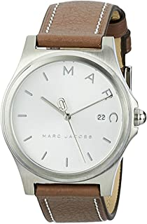 Marc Jacobs Women's Quartz Watch analog Display and Leather Strap, MJ1642