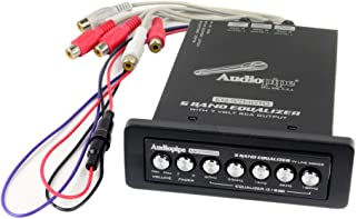 7 Band Graphic Equalizer 9 V Line Drifer Audiopipe EQ-709X