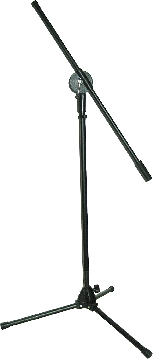 Complete Free Shipping Blast King IMS305B Philadelphia Mall Base Microphone Boom Black Stand with