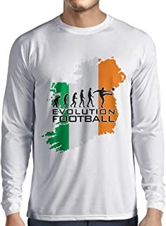 lepni.me Long Sleeve t Shirt Men Evolution Football - Ireland