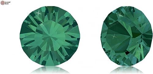 Cristaux de Swarovski 668704 Pierres Rondes 1028 PP 9 Emerald F, 1440 Pièces