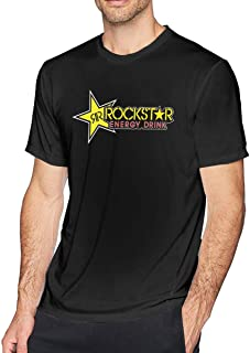 Rockstar Energy Drink Men's Comfort Short Sleeve T-Shirt Black