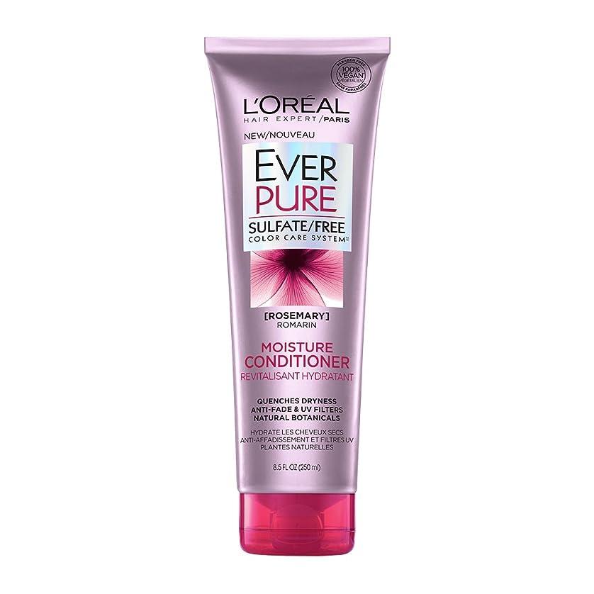 構成員耐えられる雪のLoreal Everpure Moisture Hair Conditioner Rosemary Mint - 8.5 oz (並行輸入品)