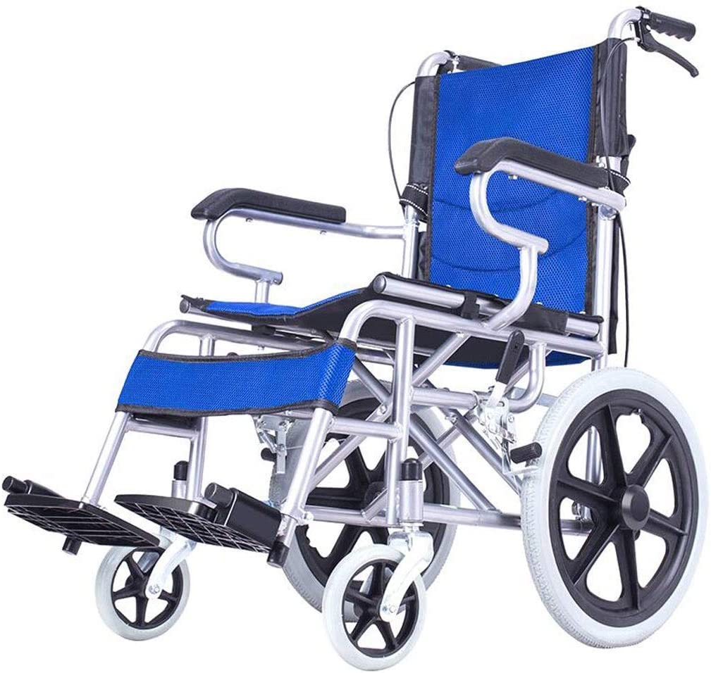 JKCKHA Wheelchair Department store Wheelchair- Be super welcome Eld Folding Lightweight