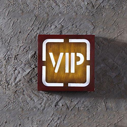 Retro Industrial Wind Wandleuchte Bar Restaurant Dekorationen Kreative Internet Cafés Cafe Hintergrund Wand Anhänger Nachtlicht Rollsnownow (Design : VIP)