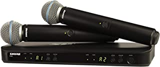 Shure Dual Channel Wireless System Vocal Mic - BLX288UK/B58