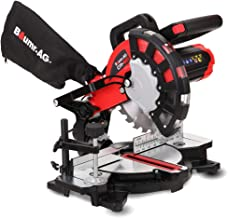 """BAUMR-AG 8"""" 210mm 1700W Compound Mitre Drop Saw with Laser Guide"""