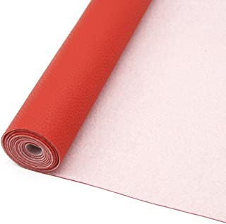 David accessories Litchi Synthetic Leather Fabric Sheets 1PC 11