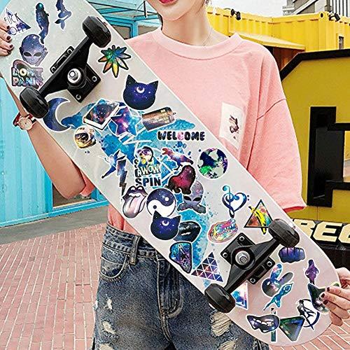 Galaxy Computer Laptop Aufkleber – Vinyl Wasserdicht Mädchen Aufkleber für Wasserflasche, Auto, Skateboard, Gepäck, Gitarre, Fahrrad, Handyhüllen, Cool Aufkleber, 42 Stück